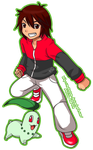 Pokemon Trainer Danny -Artrade by MokaSooN