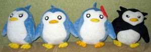 Mawaru Penguindrum penguins by Rens-twin