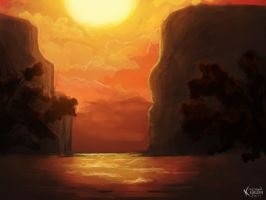 Sunset by FW77