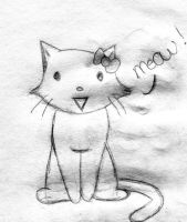 Hello Kitty - Cat by xxLDxx