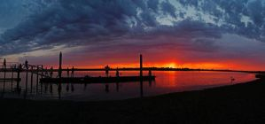 Barwon Heads River Panorama by DanielleMiner
