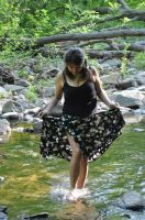 Cima in Black Skirt Stock 8 by FairieGoodMother