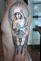 Virgin Mary by Nis-Staack