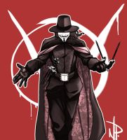 V for Vendetta by thenate06