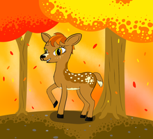 My Little Deer: Nature is Magic by Weaselx25