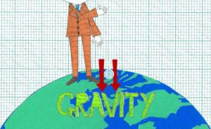 the effect of gravity. by illustrationgirl