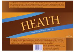 Heath bar wrapper by SparkleBat