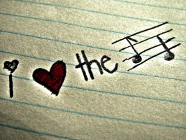 i heart the music edit by Hannah-Heroiin
