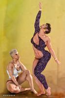 Muscle and Beauty_ The Dancers 3 by rainbowscriber