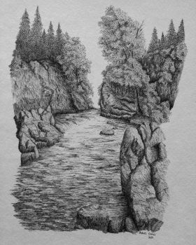 Riverflow by drawn-by-andrew