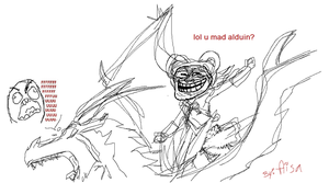 U MAD ALDUIN? by CatgirlKitsune