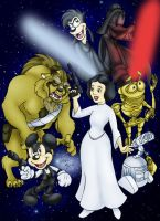 Disney Wars by elchavoman