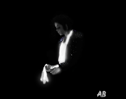 Michael Jackson glowing by TheRealSexyKate