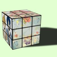 Vocaloid Rubiks Cube. by Hourglass34
