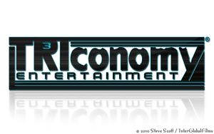 TRIconomy ENTERTAINMENT Logo by InterGlobalFilms