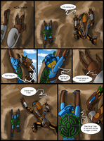 Hunters and Hunted Ch 4 Pg 12 by Saronicle