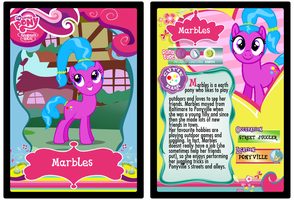 Marbles trading card by Shokka-chan