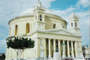 Mosta Dome, Malta by georgeveis