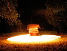 Fire Flying Saucer by MD-Arts