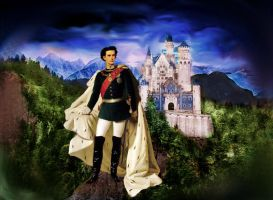 The Swan King of Bavaria by farahkhan