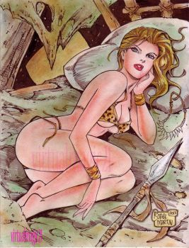 JUNGLE GIRL by RODEL MARTIN by rodelsm21