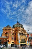 Flinders Street Station by DanielleMiner