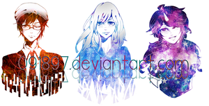 experimental halfbody commission batch 2 by 091897