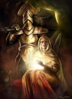 Garl Vinland and Maiden Astraea by Jorsch