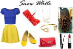 Disney: Snow White Inspired Outfit by RockerChic21