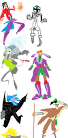 very super serious walking city trackpad requests by catphantom01