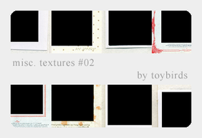 Misc. Textures 02 by toybirds