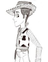 Woody in ballpoint pen by candlehat
