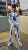 Genderbend Satsuki Cosplay AX 2014 by BurstingTheSeams