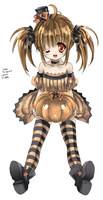 Halloween treat - colored by hizuki24