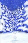 As the Snowflakes Danced by Tani-wolf