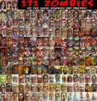 zombies 1-171 by BYRONvonREMPEL
