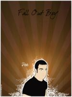 Pete of Fall Out Boy by agentfive