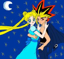 Yami and Serena by CartoonPrincess15