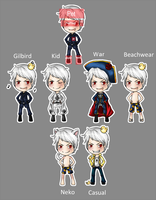 APH- Prussia Flele Shell by luga12345