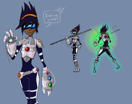 Piper - Crystal Battlesuit by World-of-Atmos