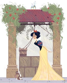 Snow White by Orelly