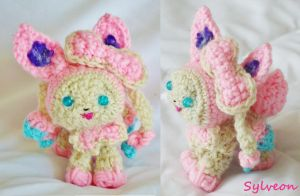Amigurumi Sylveon by Feliz22
