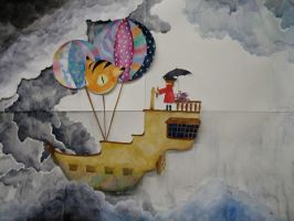 Stop-motion: Sky Pirate by gedatsu-kitteh