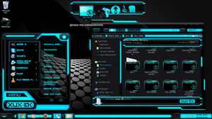 Windows 7 Theme Xux-ek by newthemes
