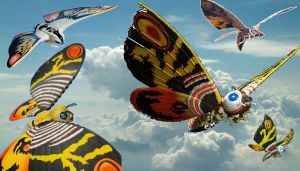 Mothra Generations by GIGAN05