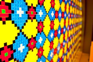 Lego Stained Glass by ackbad