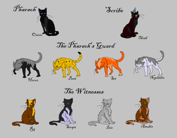 The GodClan Cats by leadmare56