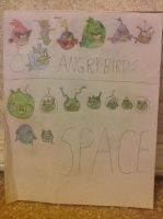 Angry Birds Space by Prince5s