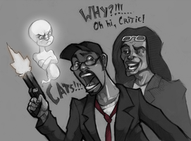 Nostalgia Critic by Flick-the-Thief