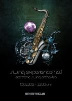 Swing Experience 1 Flyer by ValueDesignz